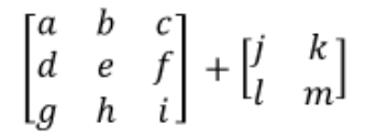 Equation 7: Can you add these two matrices together? (case 3)