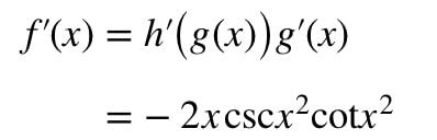 Equation 7: Derivative of csc^2 pt.4