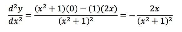 Equation 7: Second Derivative of arctan pt.1