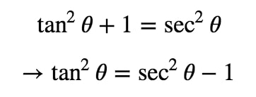 Equation 7: Trig Substitution of inverse sec pt.5