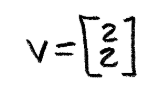 Equation 7: Vector v