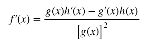 Equation 8: Derivative slope of function pt.3