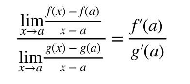 Equation 8: Deriving l'hopital's rule pt.5