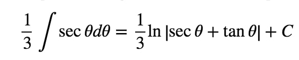 Equation 8: Trig Substitution with 3tan pt.5