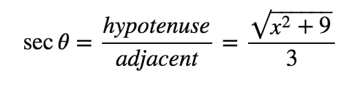 Equation 8: Trig Substitution with 3tan pt.7