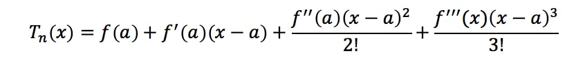 Equation 9: Taylor Series Polynomial lnx pt.1
