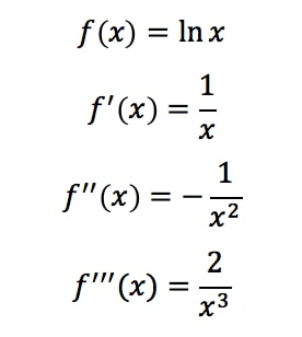 Equation 9: Taylor Series Polynomial lnx pt.2