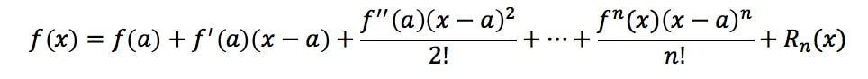 Formula 10: Taylor's Theorem