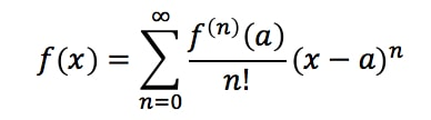 Formula 3: Taylor Series