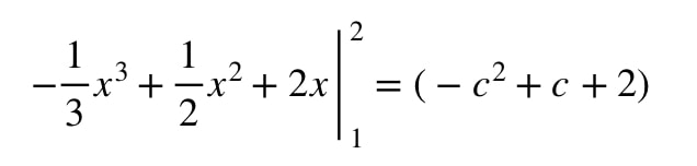 Question 2: Mean Value Theorem Integral pt.5