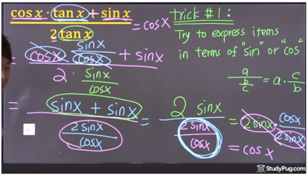 quotient and reciprocal identities ex1