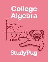 Textbook college algebra